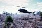 Helicopter-landing in field